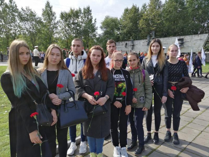 Траурно-торжественный церемониал, посвящённый Дню памяти жертв блокады Ленинграда.